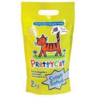 Фотография товара Наполнитель для кошачьих туалетов Pretty Cat Супер Белый, 2 кг
