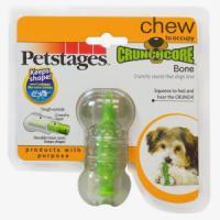Фотография товара Игрушка для собак Petstages Хрустящая косточка XS, размер 8см.