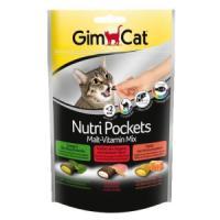 Фотография товара Лакомство для кошек GimCat Nutri Pockets Malt-Vitamin Mix, 150 г