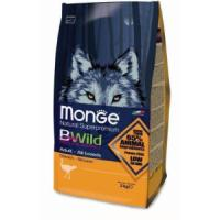 Фотография товара Корм для собак Monge Bwild Dog Ostrich, 2 кг, мясо страуса