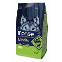 Фотография товара Корм для собак Monge Bwild Dog Wild Boar, 2 кг, мясо кабана