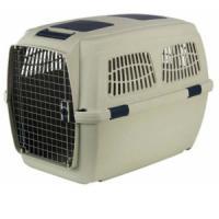 Фотография товара Переноска для собак Marchioro Clipper Tortuga, размер 7, 14.02 кг, размер 105х75х79см., бежево-синий