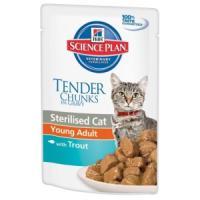 Фотография товара Корм для кошек Hill's Sterilised Cat Young Adult, 85 г, форель