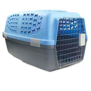 Переноска для собак и кошек Triol Large L, размер 62х39х35см., цвета в ассортименте