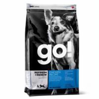 Фотография товара Корм для собак и щенков GO! Natural Holistic Refresh+Renew, 2.72 кг, курица с овощами
