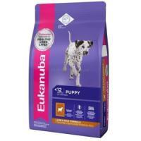 Фотография товара Корм для щенков Eukanuba Puppy Lamb and Rice, 2.5 кг, ягненок с рисом