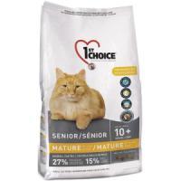 Фотография товара Корм для кошек 1st Choice Mature or Less Active, 2.72 кг