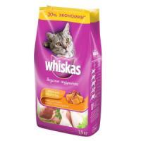 Фотография товара Сухой корм для кошек Whiskas Паштет, 1.9 кг, курица с индейкой