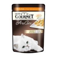 Фотография товара Влажный корм для кошек Gourmet A la Carte, 85 г, Индейка с Зеленым горошком и Морковью