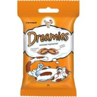 Фотография товара Лакомые подушечки для кошек Dreamies, 30 г, курица