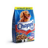 Фотография товара Корм для собак Chappi Сытный мясной обед, 2.5 кг, говядина