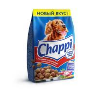 Фотография товара Корм для собак Chappi Сытный мясной обед, 600 г, говядина