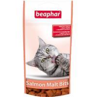 Фотография товара Лакомство для кошек Beaphar Salmon Malt Bits, 35 г, лосось