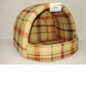 Домик для собак Бобровый дворик, размер 2, цвета в ассортименте