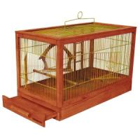 Фотография товара Клетка для птиц Дарэлл Ретро - Кантри, 3 кг, размер 71х33.5х51см., клен