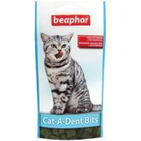 Фотография товара Подушечки для кошек для чистки зубов Beaphar Cat-A-Dent-Bits, 35 г
