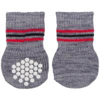 Фотография товара Носки для собак Trixie Dog Socks L, 220 г, серый