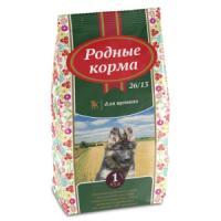 Фотография товара Корм для щенков Родные корма 26/13, 16.38 кг, курица