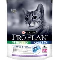 Фотография товара Корм для кошек Pro Plan Sterilised Adult 7+, 400 г, индейка