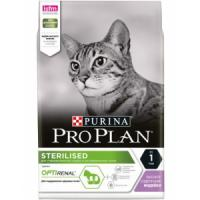 Фотография товара Корм для кошек Pro Plan Sterilised, 3 кг, индейка
