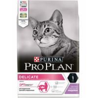Фотография товара Корм для кошек Pro Plan Delicate, 3 кг, индейка с рисом