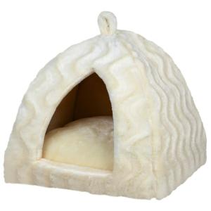 Домик для кошек и собак Trixie Delia, размер 40×40×42см., кремовый