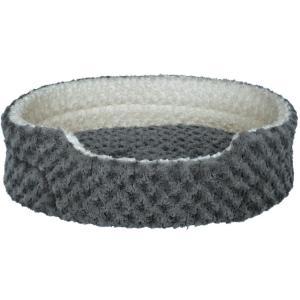 Лежак для собак Trixie Kaline, размер 85х75см., серый / кремовый