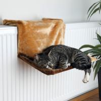 Фотография товара Гамак для кошек Trixie Radiator Bed, размер 45×24×24см., коричневый