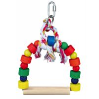 Фотография товара Качели для птиц Trixie Arch Swing, размер 13х19см.