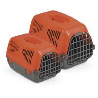 Фотография товара Переноска для собак и кошек MPS Sirio Little, размер 50х33.5х31см., красный