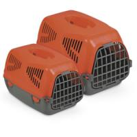 Фотография товара Переноска для собак и кошек MPS Sirio Big, размер 64х39х39см., красный
