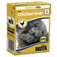 Фотография товара Корм для кошек Bozita Chicken Liver, 370 г, куриная печень