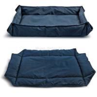 Фотография товара Лежанка для собак Triol Комфорт L, размер 88х68см., синий