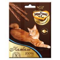 Фотография товара Лакомство для кошек Мнямс Деликатес, 12 г, камбала