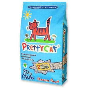 Наполнитель для кошачьего туалета Pretty Cat Aroma Fruit, 20 кг
