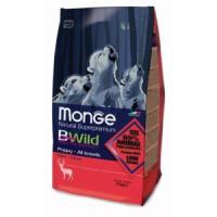 Фотография товара Корм для щенков Monge Bwild Dog Deer, 2 кг, оленина