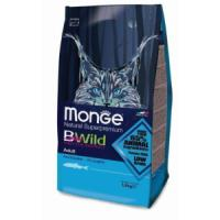 Фотография товара Корм для кошек Monge Bwild Cat Anchovies, 1.5 кг, анчоусы