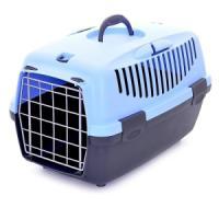 Фотография товара Переноска для собак и кошек Stefanplast Gulliver, размер 1, 1.3 кг, размер 48х32х31см., голубой