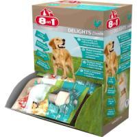Фотография товара Лакомство для собак 8 in 1 Delights Dental XS, 500 г, размер 7.5см.