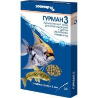Фотография товара Корм для рыб Зоомир Гурман 3, 30 г