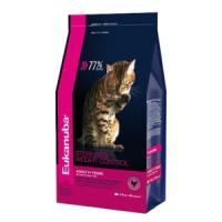 Фотография товара Корм для кошек Eukanuba Overweight & Sterilised, 1.5 кг, курица