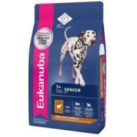 Фотография товара Корм для собак Eukanuba Mature & Senior All Breeds, 2.5 кг, ягненок с рисом