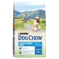 Фотография товара Сухой корм для щенков Purina Dog Chow Puppy Large Breed, 14 кг, индейка