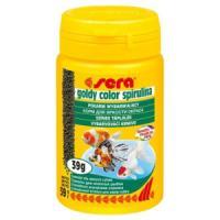 Фотография товара Корм для золотых рыб Sera Goldy Color Spirulina, 39 г