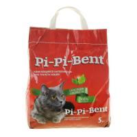 Фотография товара Наполнитель для кошачьего туалета Pi-Pi Bent Сенсация свежести, 5 кг