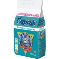 Фотография товара Наполнитель для кошачьего туалета Барсик Альпийская свежесть, 3 кг