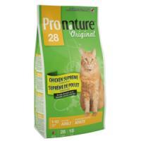 Фотография товара Корм для кошек Pronature Original 28, 20 кг, цыпленок