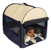 Фотография товара Сумка-переноска для собак и кошек Trixie Kennel XS, размер 32х32х47см.