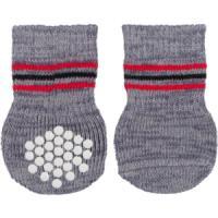 Фотография товара Носки для собак Trixie Dog Socks XL, 220 г, серый