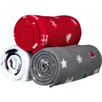 Фотография товара Подстилки для собак Trixie Yuki, 3.955 кг, красный/ серый / белый